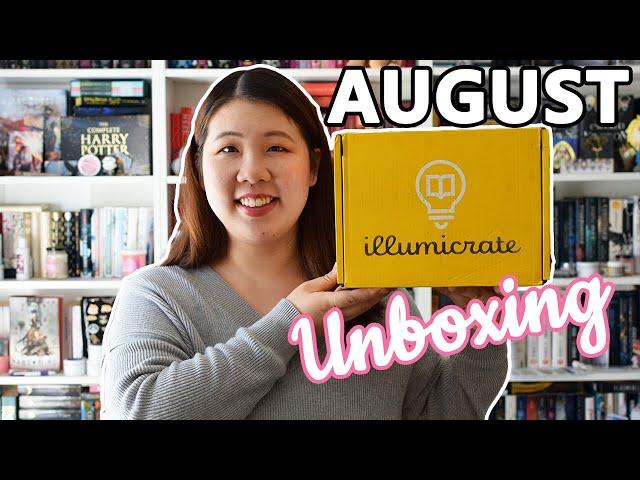 Illumicrate August Unboxing | 2019 📦