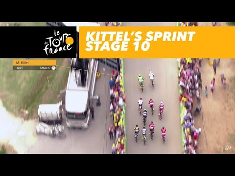 Kittel's sprint - Stage 10 - Tour de France 2017