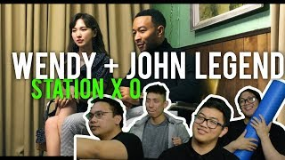 "JOHN LEGEND x WENDY ""WRITTEN IN THE STARS"" (MV Reaction) mp3"