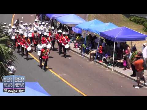 Regiment Band In The Bermuda Day Parade, May 26 2014