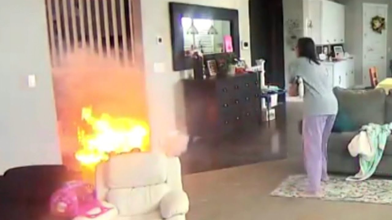Exploding Hoverboard Nearly Sets Family's House on Fire