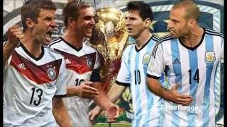 WM 2014 Deutschland - Argentinien ( Song: Heul doch nicht Argentinien ) HD