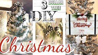 DIY DOLLAR TREE FARMHOUSE CHRISTMAS DECOR  RUSTIC FARMHOUSE CHRISTMAS TREND 2019 DIY dollar store