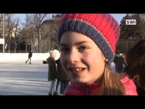 Eislaufen in Schwechat