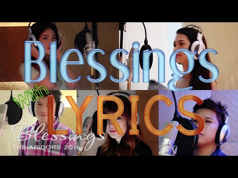 Blessings - The AsidorS | With Lyrics on Screen