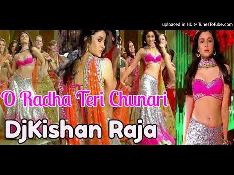 O Radha Teri Chunari O Radha Tera Challa Aaliya Bhatt Varun Dhawan Dance Mix Dj Kishan Raja