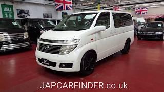 Nissan Elgrand XL Model  Jap Car Finder LTD. Stock no 117