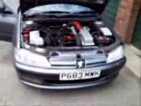 peugeot 406 2 0 turbo exhaust dump valve and boost rally youtube