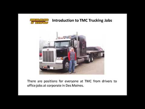 TMC Trucking Jobs video