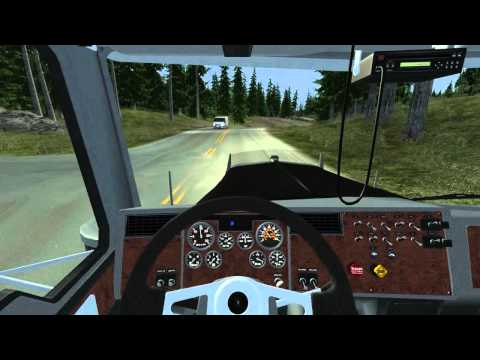 18 Wheels of Steel: Extreme Trucker 2 - HD Gameplay with Logitech G25  
