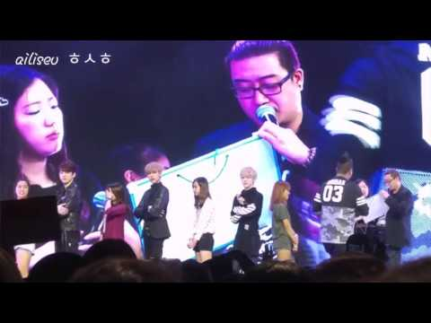 [FANCAM] 151206 GOT7 Fanmeet SG - Charades Part I