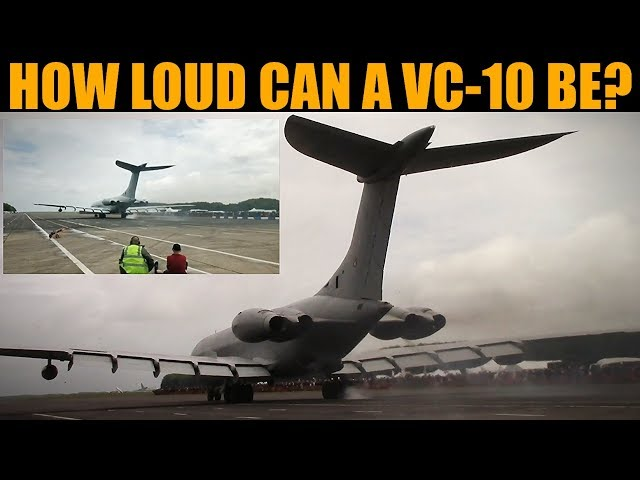 STUPIDLY Sitting Behind 270,000Bhp VC-10 During Full Power Run | Bruntingthorpe 2019