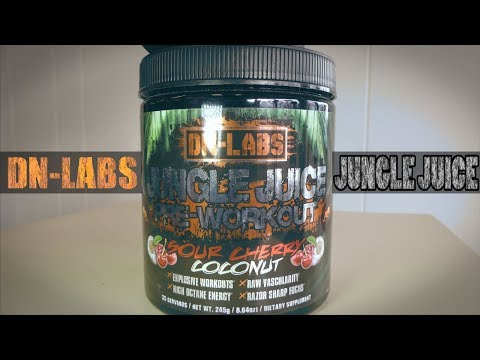 Jungle Juice - Ultra Potent Pre-Workout Drink - Review