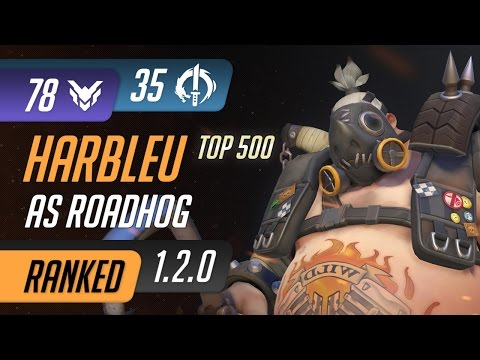 [Rating:78] TSM Harbleu as Roadhog on Volskaya Industries Assault / Ranked Gameplay 1.2.0