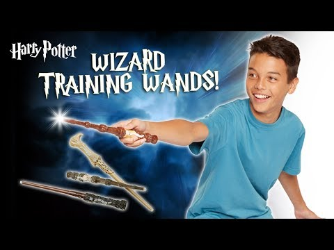 Bring Hogwarts Magic to Life With Harry Potter Wizard Training Wands! | A Toy Insider Play by Play