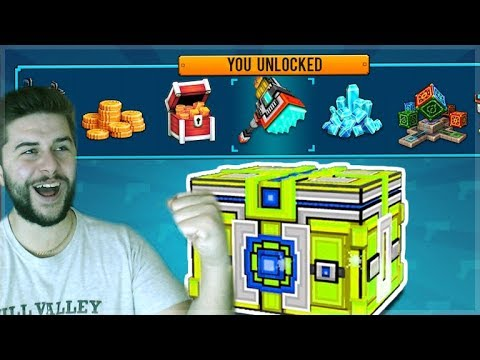 OMG! BEST SUPER CHEST CRATE OPENING! WE UNLOCKED 5 WEAPONS ...