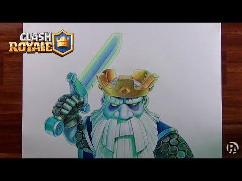 Dibujando Al Fantasma Real De Clash Royale Patrickart
