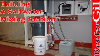 Saltwater Making Station: Saltwater Aquarium