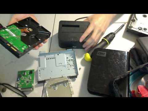 Recover Data HHD hard drive from broken external Western Dig