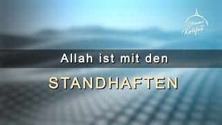 Allah ist mit den Standhaften | Stimme des Kalifen