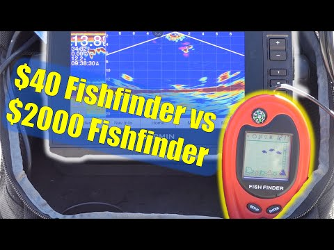 $40 Fishfinder Vs $2000 Fishfinder