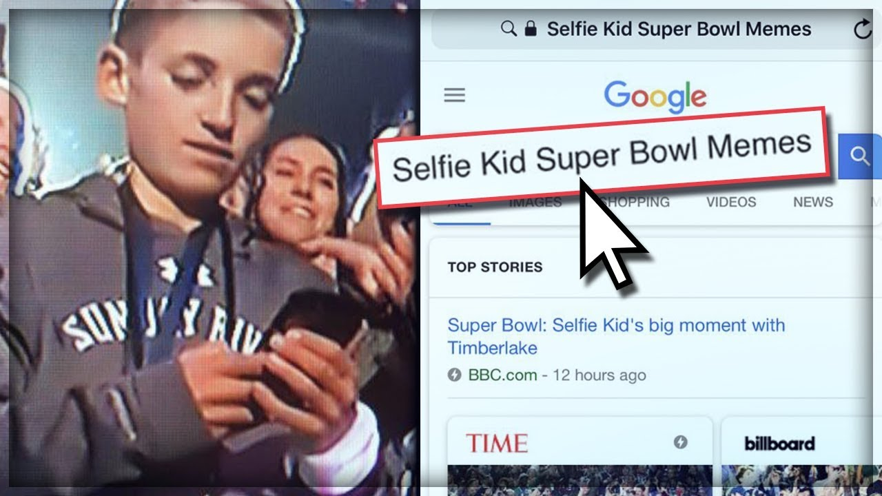 maxresdefault super bowl selfie kid justin timberlake memes youtube