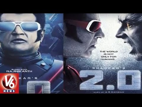 Rajinikanth's 2.0 Movie Telugu Rights Bagged By Global Cinema | Tollywood Gossips | V6 News