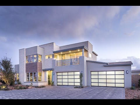 Hyper-Modern MyHeaven Meridian Plan 2XC by Pardee Homes in Southwest Las Vegas