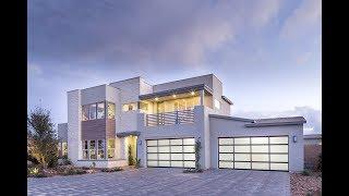 Hyper-Modern MyHeaven Meridian Plan 2XC by Pardee Homes in Southwest Las Vegas