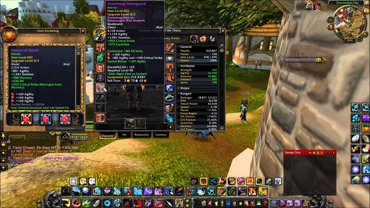 world of warcraft mop beast mastery hunter pve guide 5 Vanilla WoW Leveling Guide WoW Alliance Leveling Guide
