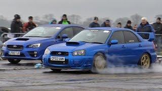 Drag Racing in the RAIN!! - Dakota Raceway South West