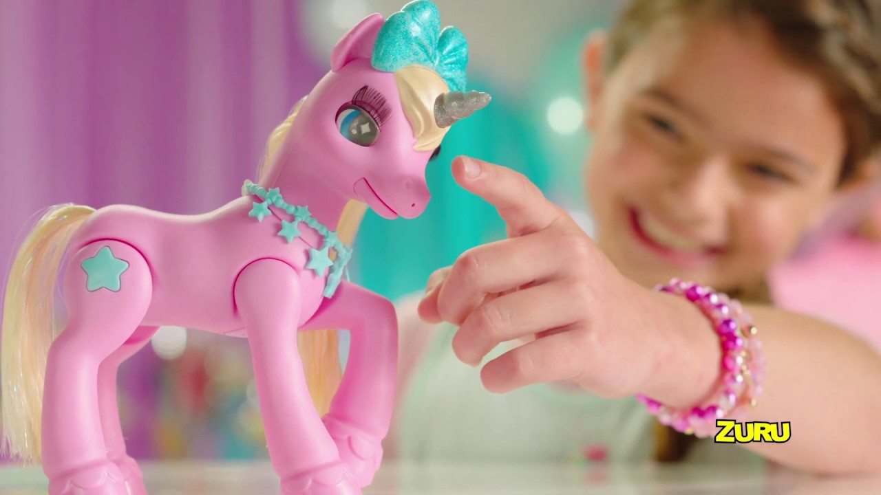 Pets Alive My Magical Unicorn And Stable Smyths Toys Youtube