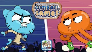 The Gumball Games - Head-to-Head Competition Between Gumball and Darwin (Cartoon Network Games)