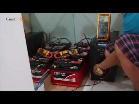Trocando Baterias e turbinando No-Break (de VERDADE) - Canal do Bond