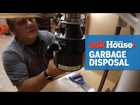 How to Install a Garbage Disposal   Ask This Old House