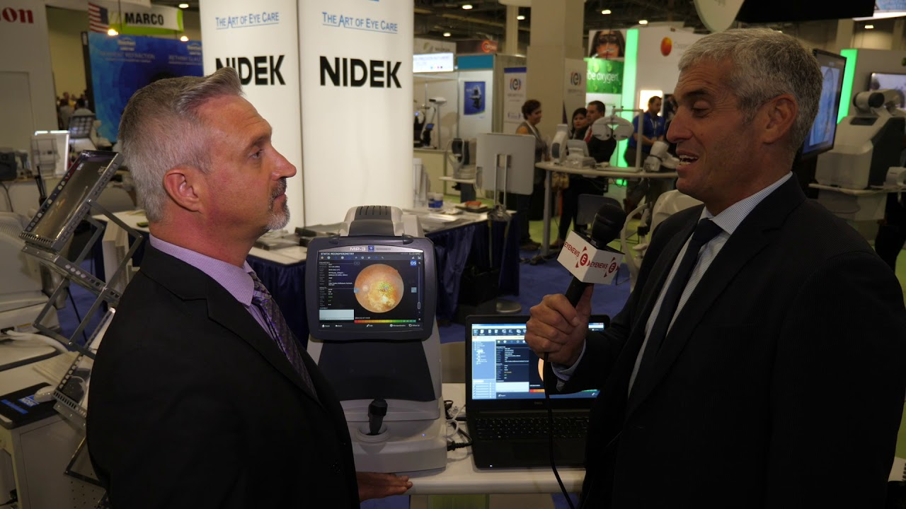AMD patient diagnosis with the NIDEK MP-3 Microperimeter measures ...