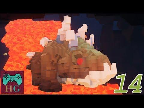 ITA PixArk 14. Mostruose creature sotterranee: Megarock Dragon (taming)