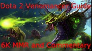 Dota 2 Venomancer Guide 6.86: Offlane DOMINATION (6K MMR Commentary)