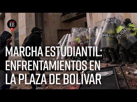 Marcha estudiantil en Bogotá: así se vivió la jornada que culminó en disturbios - El Espectador