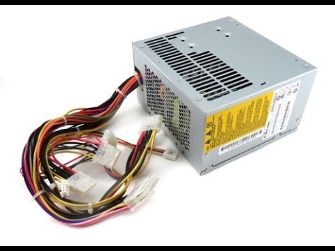 How To Replace or Install HP Pavilion Desktop Power Supply - YouTube