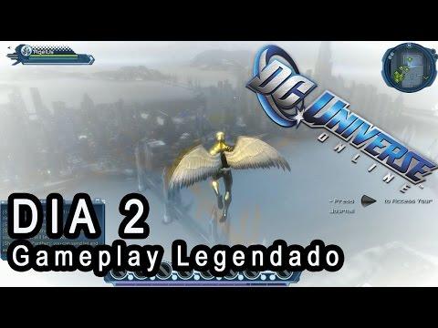 DC Universe Online Gameplay – DIA 2 [LEGENDADO PT-BR] – Gorilas e Fails