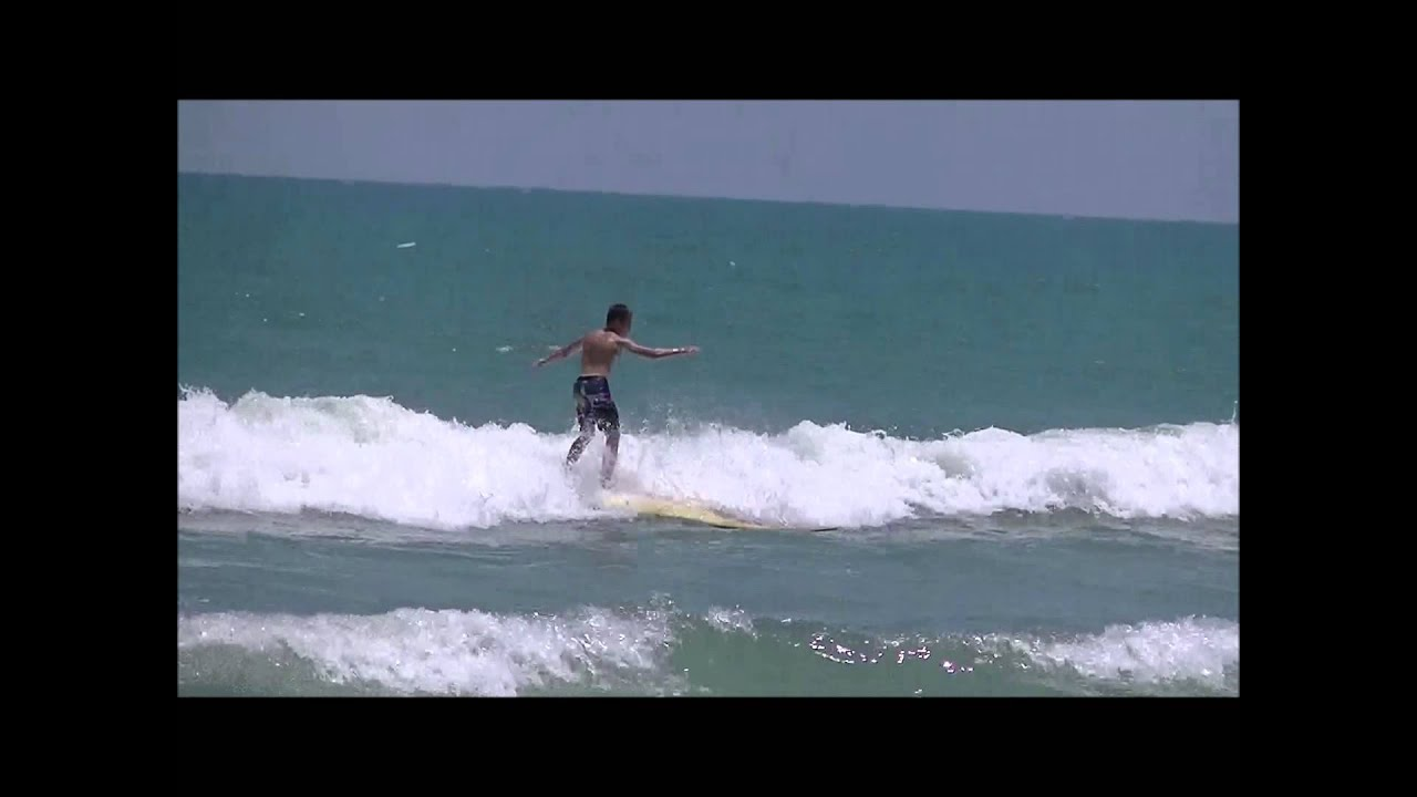 Riding the 50 Pound 10 Foot Longboard - April 2014 - YouTube 9836347d9