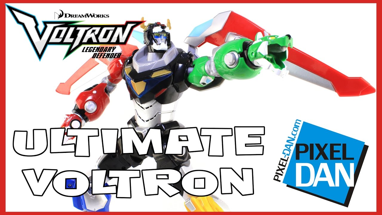 """Voltron Ultimate 14/"""" Electronic Figure"""