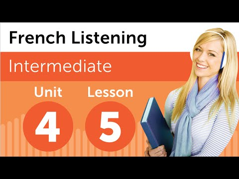 French Listening Comprehension - Finding Your Way Around a Building in France