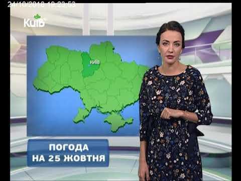 Телеканал Київ: Погода на 25.10.18