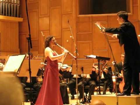 Shirley Brill performs Weber Clarinet Concerto Op.74, III. Alla Polacca