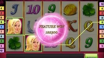 Lucky Lady's Charm - CASINO SLOT MACHINE - €€€HUGE WIN€€€
