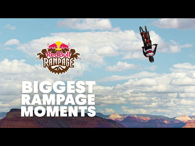 Are These the Biggest Red Bull Rampage Moments Ever? | Red Bull Rampage 2019