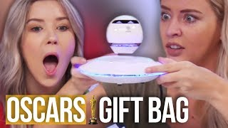 Opening the $100,000 OSCARS Gift Bag!! (Beauty Break)