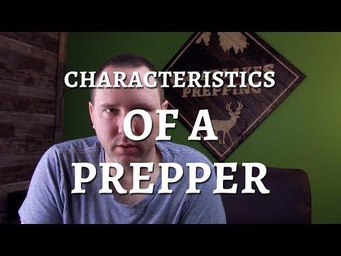 Characteristics Of A Prepper